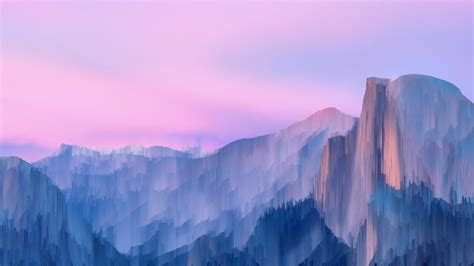 Yosemite Wallpapers Seem To Go Well With Pixel Sorting