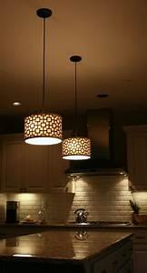 Kitchen island bench pendant lighting