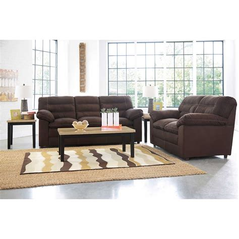 Chocolate Loveseat by Gosnell Chocolate Sofa 2990038 Furniture Afw