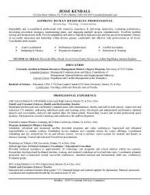 career change resume summary statement exles free career change resume exle