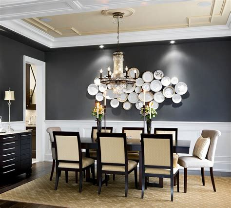 dining room wall ideas 25 elegant and exquisite gray dining room ideas