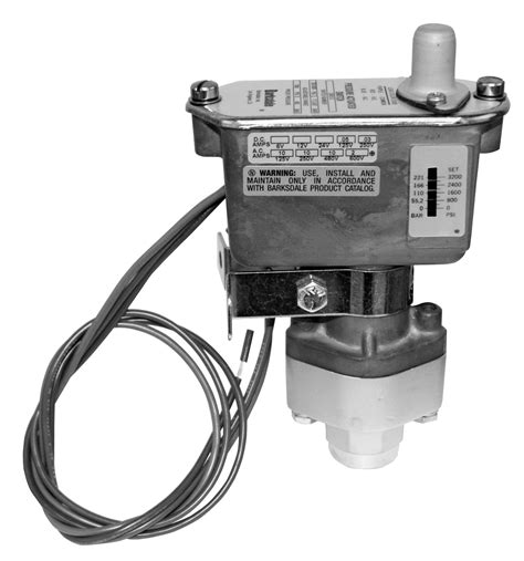 high low adjustable pressure switch single