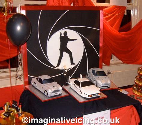 james bond classic cars   cake imaginative