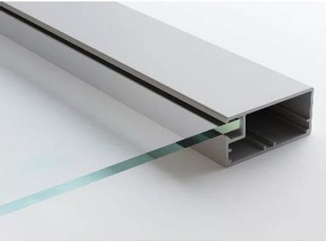 laminate kitchen backsplash aluminum frame vivaro aluminum glass cabinet doors