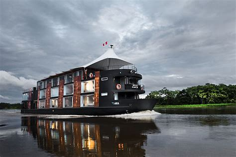 The Boat Hotel by Luxury Boat Hotel By Jordi Puig Peru 187 Retail Design