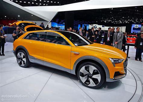 Audi H Tron Quattro Concept Brings Yellow In Detroit