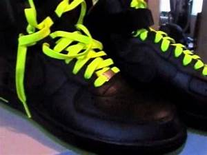 Nike Airforce 1 black and lime review