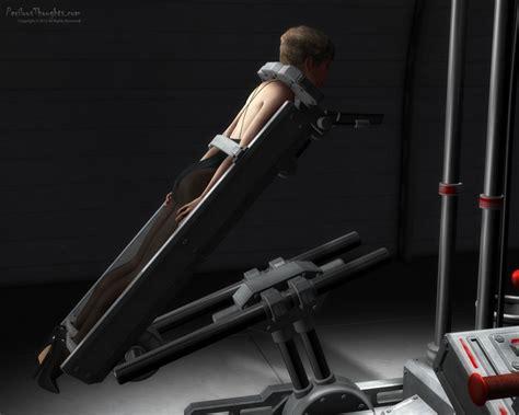 perilous machines bed execution restraints felt helpless