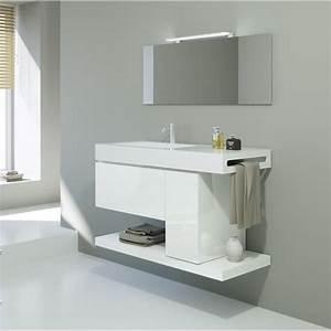 Meuble Sous Vasque 100 Cm : ensemble meuble sous vasque 100cm achat vente meuble ~ Teatrodelosmanantiales.com Idées de Décoration
