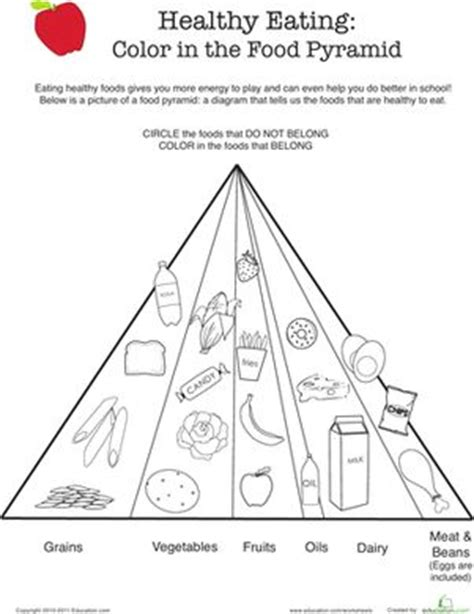 healthy eating color  food pyramid  images