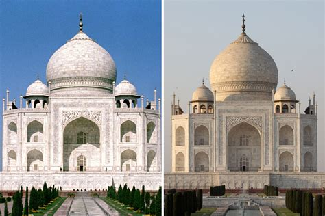 indian government ordered  fix taj mahals worrying