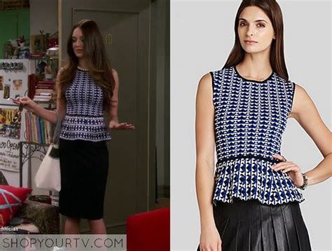 Inez Top Blue hungry season 1 episode 7 caroline s blue printed