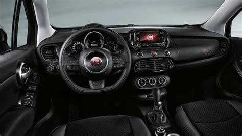 Fiat 500x Interni - fiat 500x cross look listino prezzi 2018 consumi e