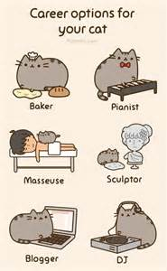cat careers career options for your cat pusheen