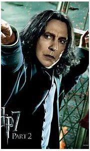 Movie - Harry Potter - Severus Snape - Alan Rickman ...