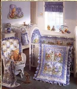 classic winnie the pooh friends 4 pc crib bedding set ebay