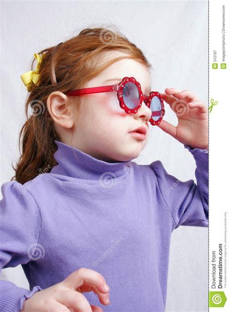 girl  sunglasses royalty  stock photography