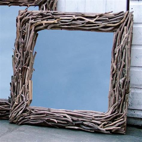 driftwood picture frame driftwood projects pinterest