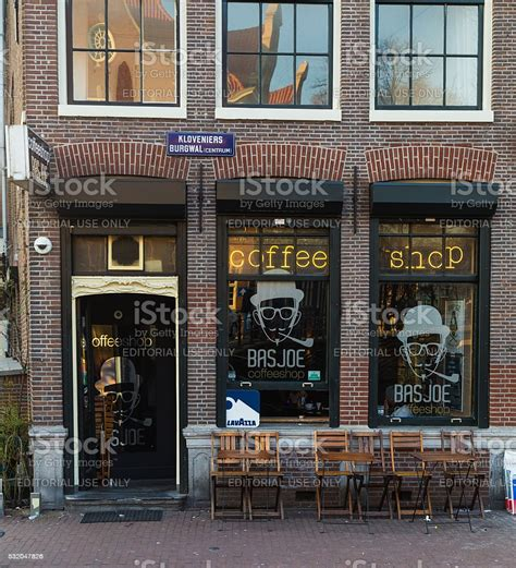 Amsterdam Coffee Shop Stock Photo - Download Image Now ...