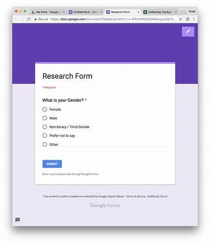 Forms Google Option Customizable