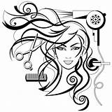 Drawing Cosmetology Salon Beauty Business Getdrawings sketch template