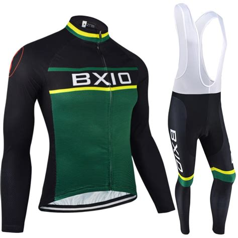 bike clothing bxio winter cycling jersey thermal fleece pro team bike