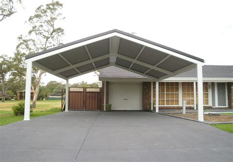 carport diy kit 6x6m gable made to size pergola patio