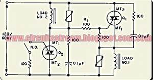 Simple Ac Static Single Pole Double Throw Switch Wiring Diagram Schematic