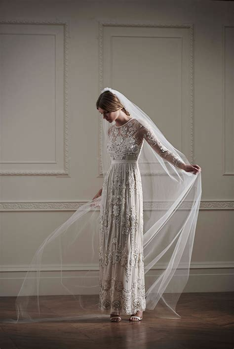 net  porter needle  thread bridal collection