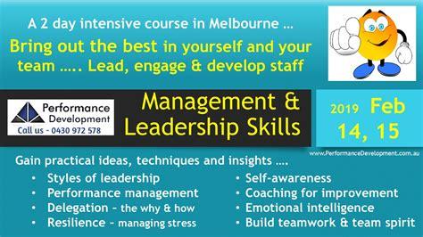 leadership training melbourne leadership skills