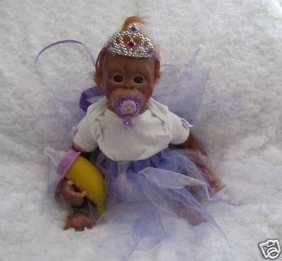 Princess Monkey   Reborn Baby dolls and Monkeys   Kittens