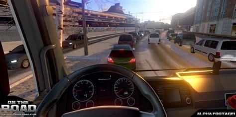 on the road truck simulator on the road kamyon sim 252 lasyonundan oyun i 231 i kabin g 246 r 252 nt 252 leri