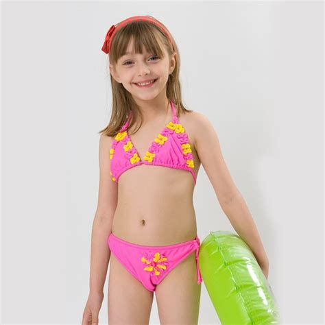 hiheart  brand children swimwear baby girls swim suit