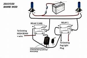 Off With High Beam Fog Light Wiring Diagram