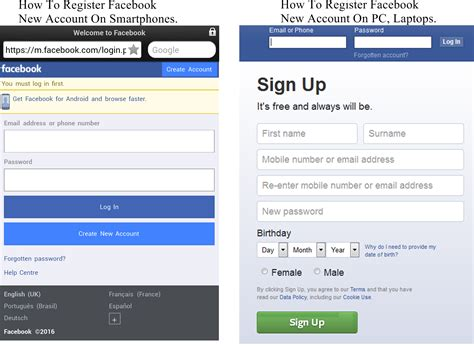 Facebook  How To Register New Account On Smartphones, Pcs. Pulmonary Signs Of Stroke. Line Leader Signs Of Stroke. Inflammation Signs. Say Signs Of Stroke. Escalator Signs. To Boldly Go Signs Of Stroke. Child Symptom Signs. Multiple Signs