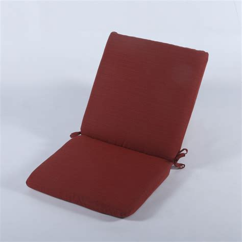 furniture beautiful high back patio chair cushions design