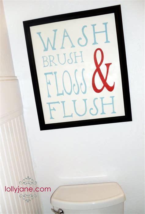 Cute Bathroom Signs Myideasbedroomcom