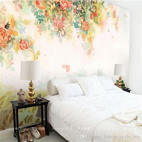elegant photo wallpaper rose flower wall murals  custom