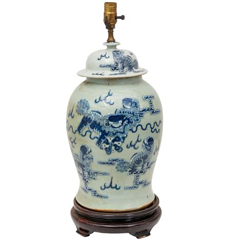 chinese ginger jar table ls large chinese ginger jar l at 1stdibs