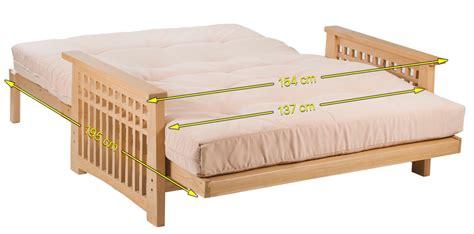 mattress for futon sofa bed akino 2 seater oak futon sofa bed by cambridge futons