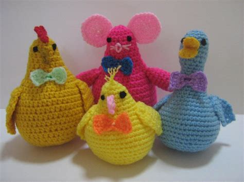 cute animal companions crochet pattern  amylim craftsy