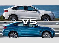 BMW X4 M vs BMW X6 M YouTube