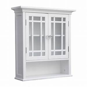 shop elegant home fashions neal 22 in w x 24 in h x 7 in d With kitchen cabinets lowes with capiz wall art crystal formation