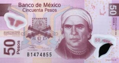 50 Mexican Pesos