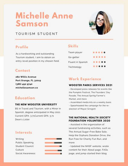 Cv Canevas by Grey Simple Academic Resume Templates By Canva