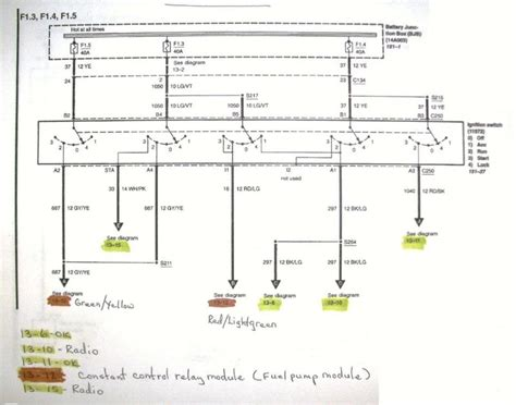 1996 Ford Mustang Starter Wiring Diagram by Clifford Alarm Install Mustang Forums At Stangnet