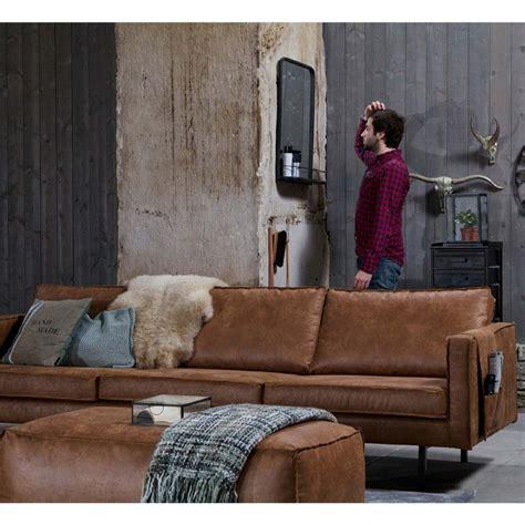 grand canapé 5 places canapé 3 5 places en cuir bronco par drawer fr