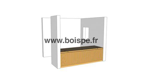 bureau d ude structure bois fabriquer un bureau à partir d 39 éléments d 39 ossature bois