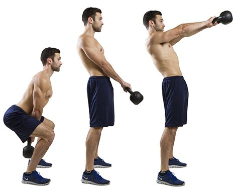 kettlebell swings exercise hiit lunges swing kettle bell exercises kettlebells weight alternating fat raise fitness jump workouts gym training heavy