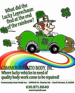 Happy St. Patrick's Day from Community Auto Body, Inc. in ...